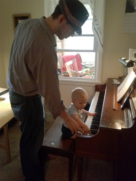 Father-son duet